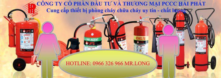 Thiết bị phòng cháy chữa cháy tại Hà Nội