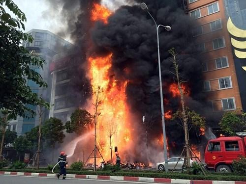 5 nguyên nhân cháy chung cư