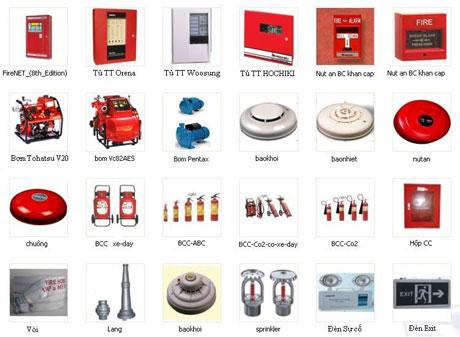 Bảng giá thiết bị phòng cháy chữa cháy mới nhất