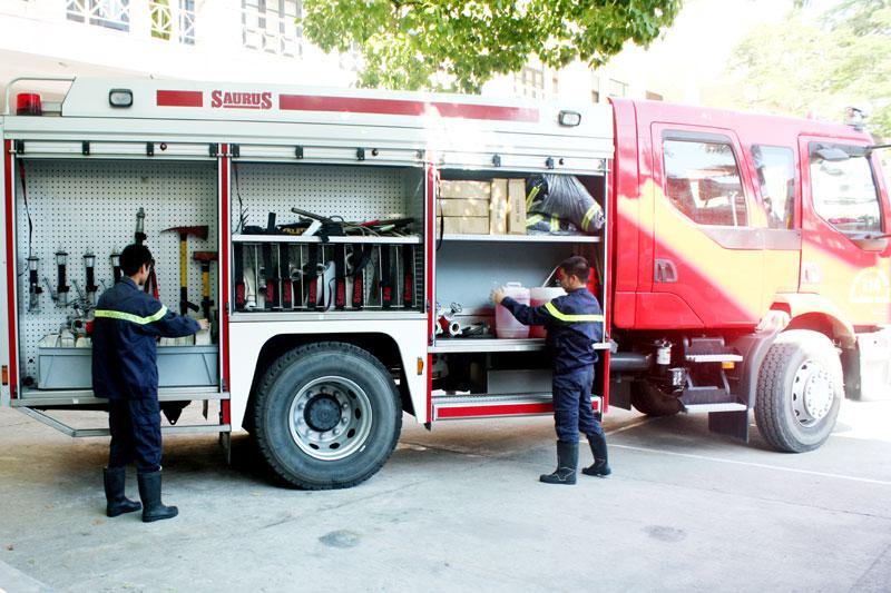 Kiểm tra bảo dưỡng phương tiện phòng cháy chữa cháy