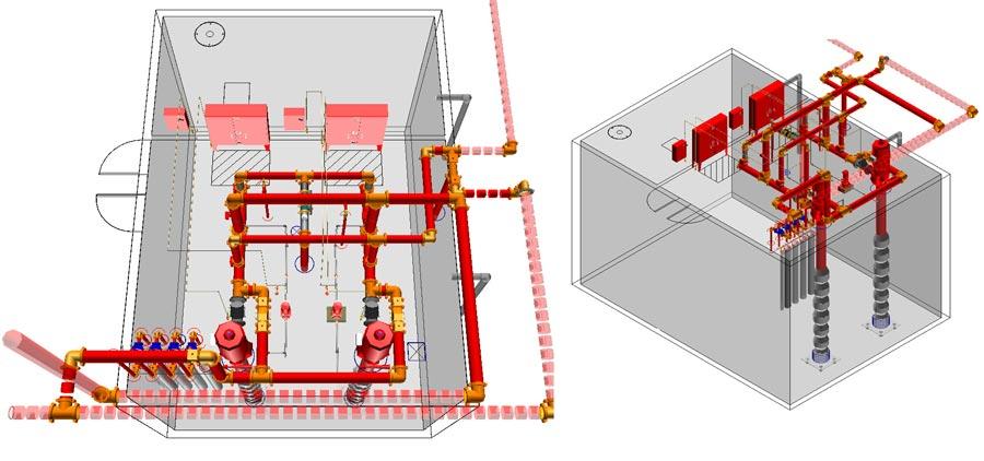 Hệ thống thiết bị phòng cháy chữa cháy gồm những gì?
