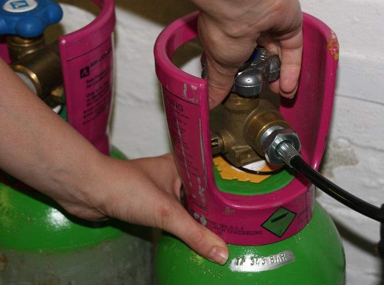 An toàn khi sử dụng bình gas trong nấu ăn