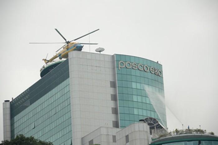 Chủ tịch Hà Nội muốn có trực thăng để cứu hộ cháy cao ốc